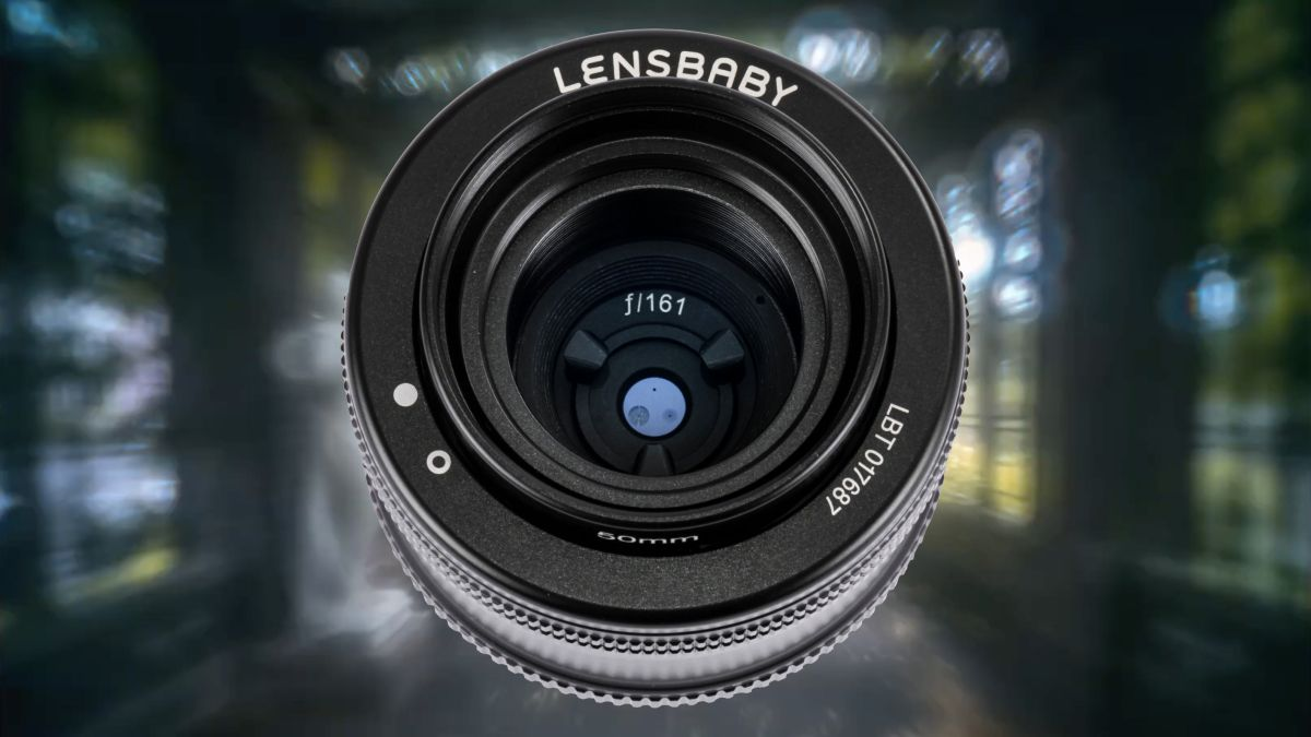 An f/161 pinhole lens that costs $280? Meet Lensbaby's latest crazy creation