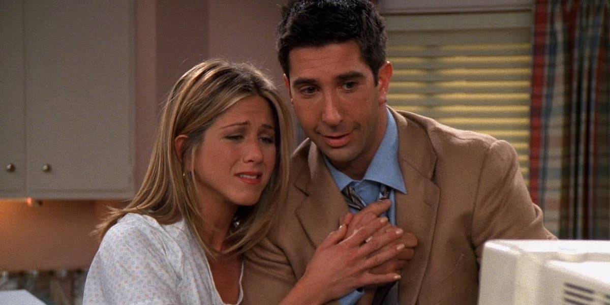 Ross en Rachel hook up