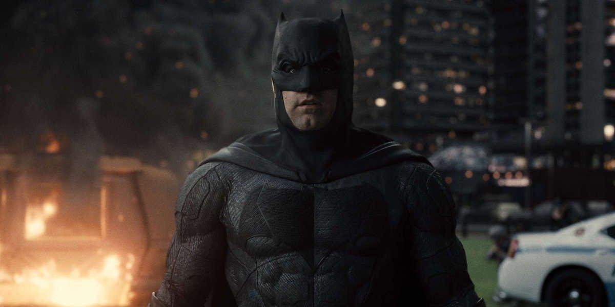 Ben Affleck's Batman in Zack Snyder's Justice League