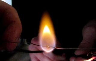 Fuel Droplet Burns in One-G