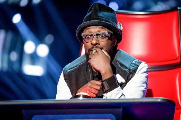 Will.i.am on The Voice judging panel