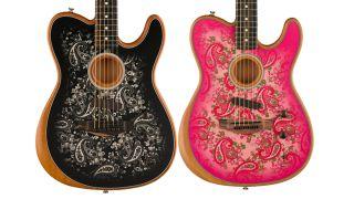 Fender Acoustasonic Paisley Telecaster