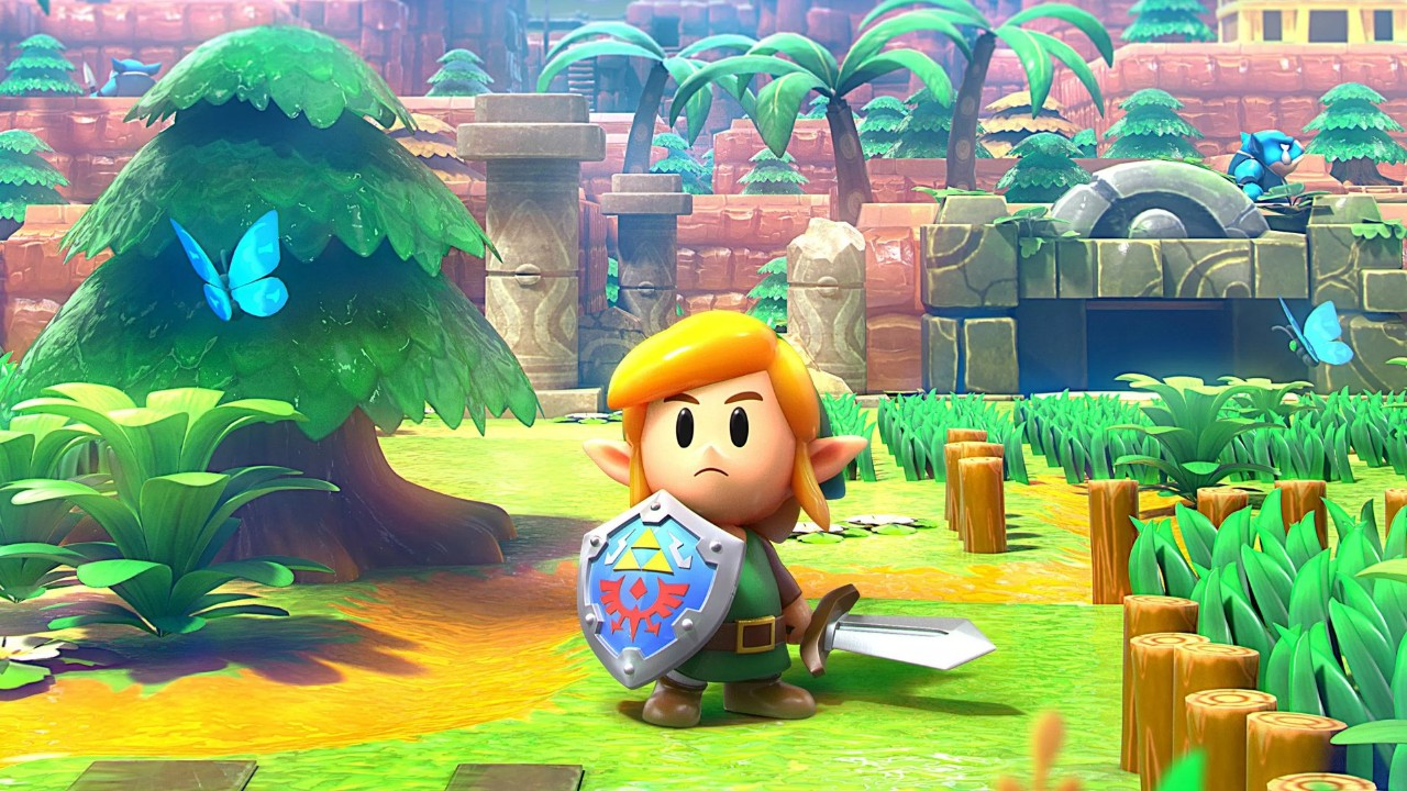Legend Of Zelda Link S Awakening Review Peak Old School