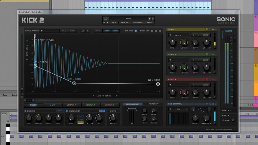 How to synthesize a house kick using Sonic Academy Kick 2 | MusicRadar