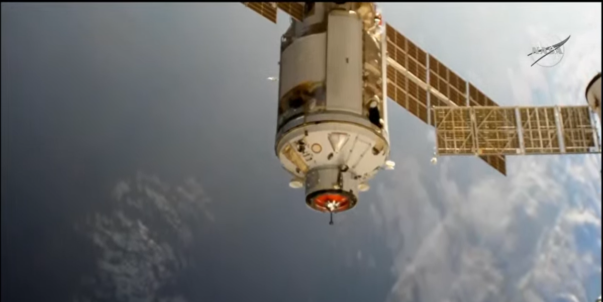 Russia's Nauka module briefly tilts space station with unplanned thruster fire