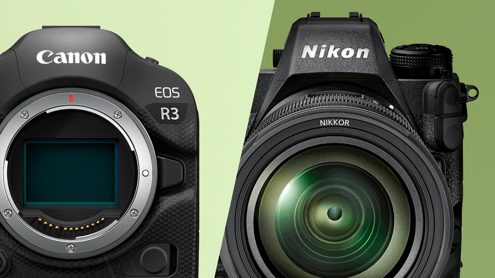 Canon EOS R3 vs Nikon Z9