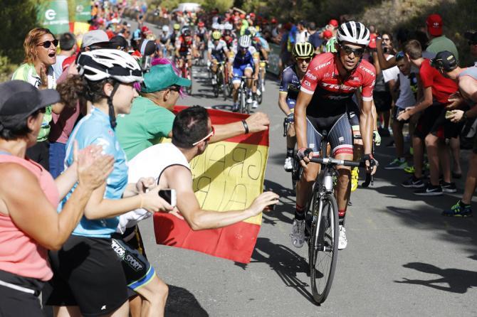 Alberto Contador (Trek-Segafredo) goes on the attack