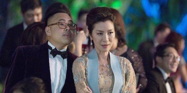 Michelle Yeoh in Crazy Rich Asians