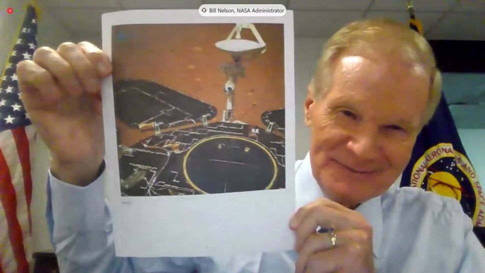 Bill Nelson pledges action on Artemis, Mars and China in 1st hearing as NASA chief