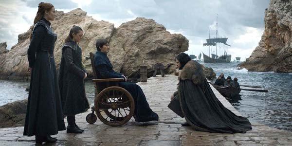 Game of Thrones series finale Season 8 Episode 6 Jon kneels to King Bran
