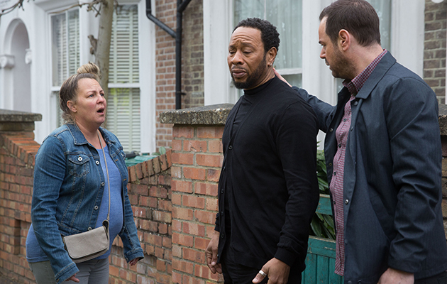 EastEnders Mitch Baker and Karen Taylor