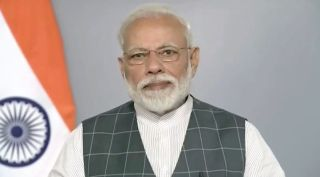 Indian Prime Minister Narendra Modi announced the anti-satellite test in a televised speech March 27.