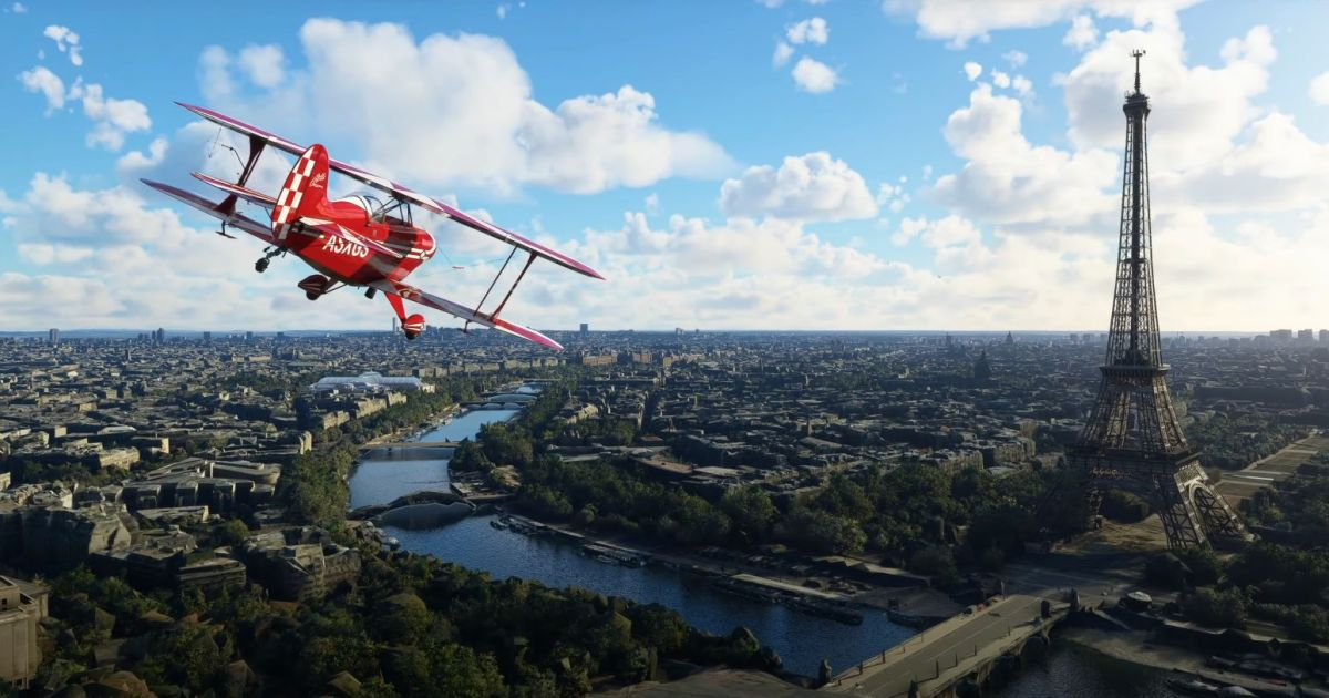 France and Benelux look fancy in new Microsoft Flight Simulator world update