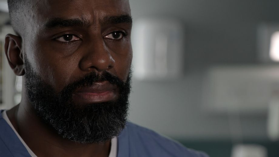 Jacob Masters in Casualty is stunned to discover his father may still be alive...