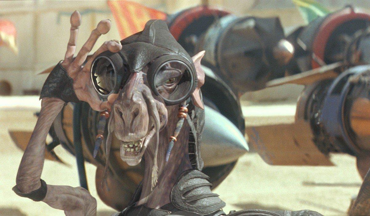 Sebulba looking sly Star Wars