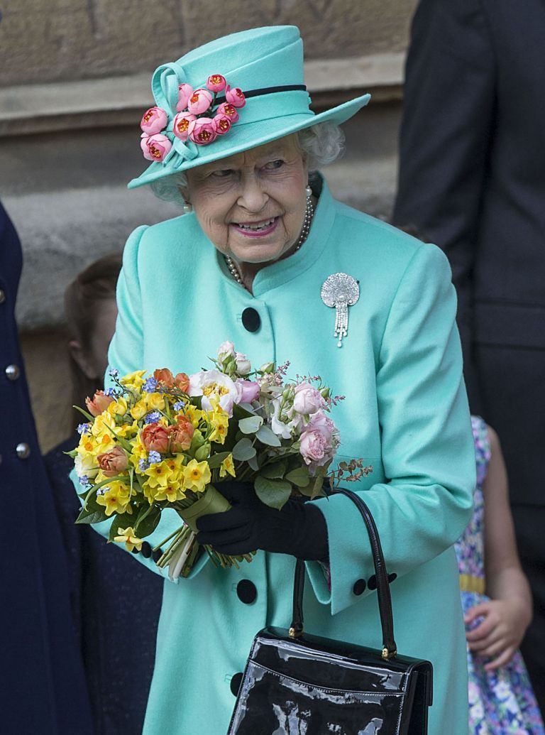 queen at easter