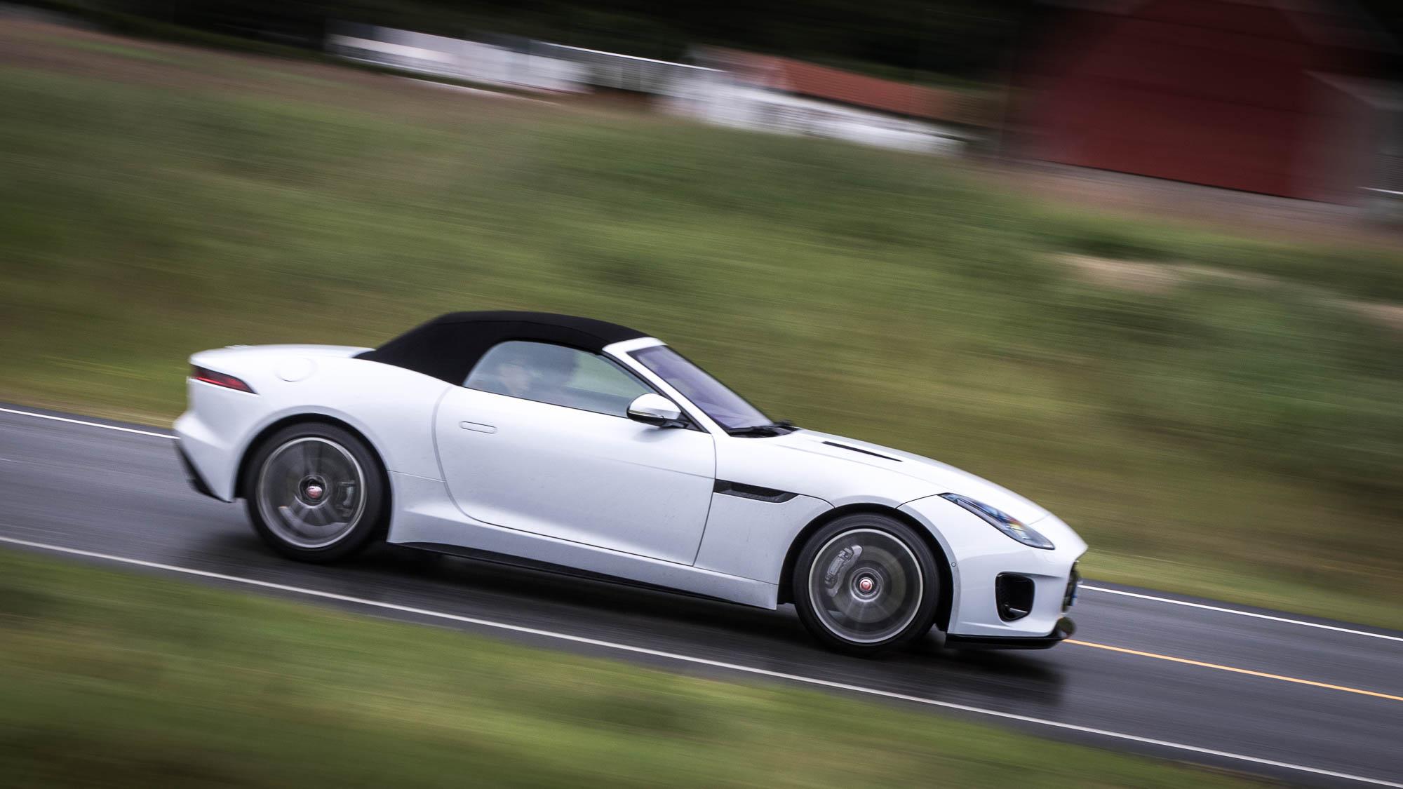 jaguar f-type 2.0-litre: still a pure sports car at heart | techradar
