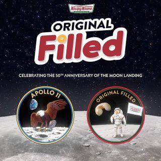 Krispy Kreme Debuts Doughnut For Apollo 11 Moon Landing 50th