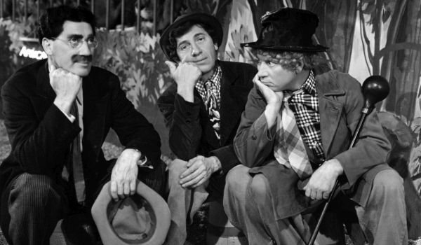 Grouch Harpo and Chico  At the Circus