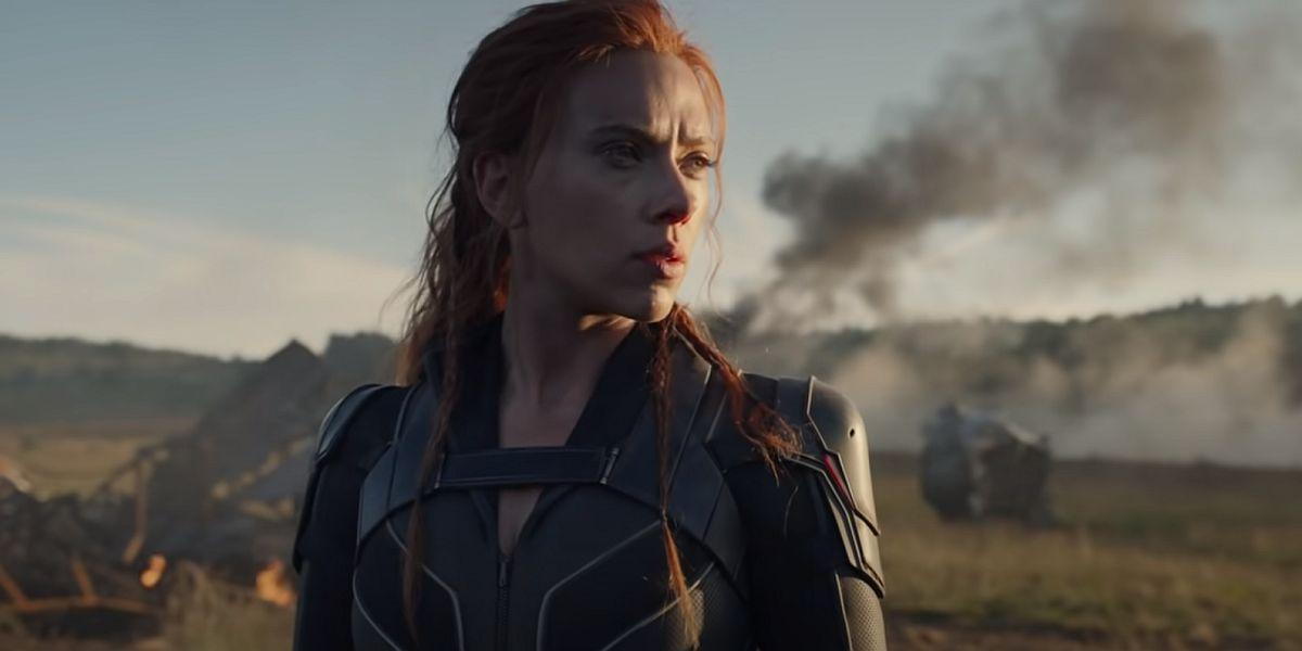 Scarlett Johansen in Black Widow