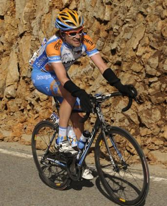 David Zabriskie, Tour of Catalonia 2010, stage three