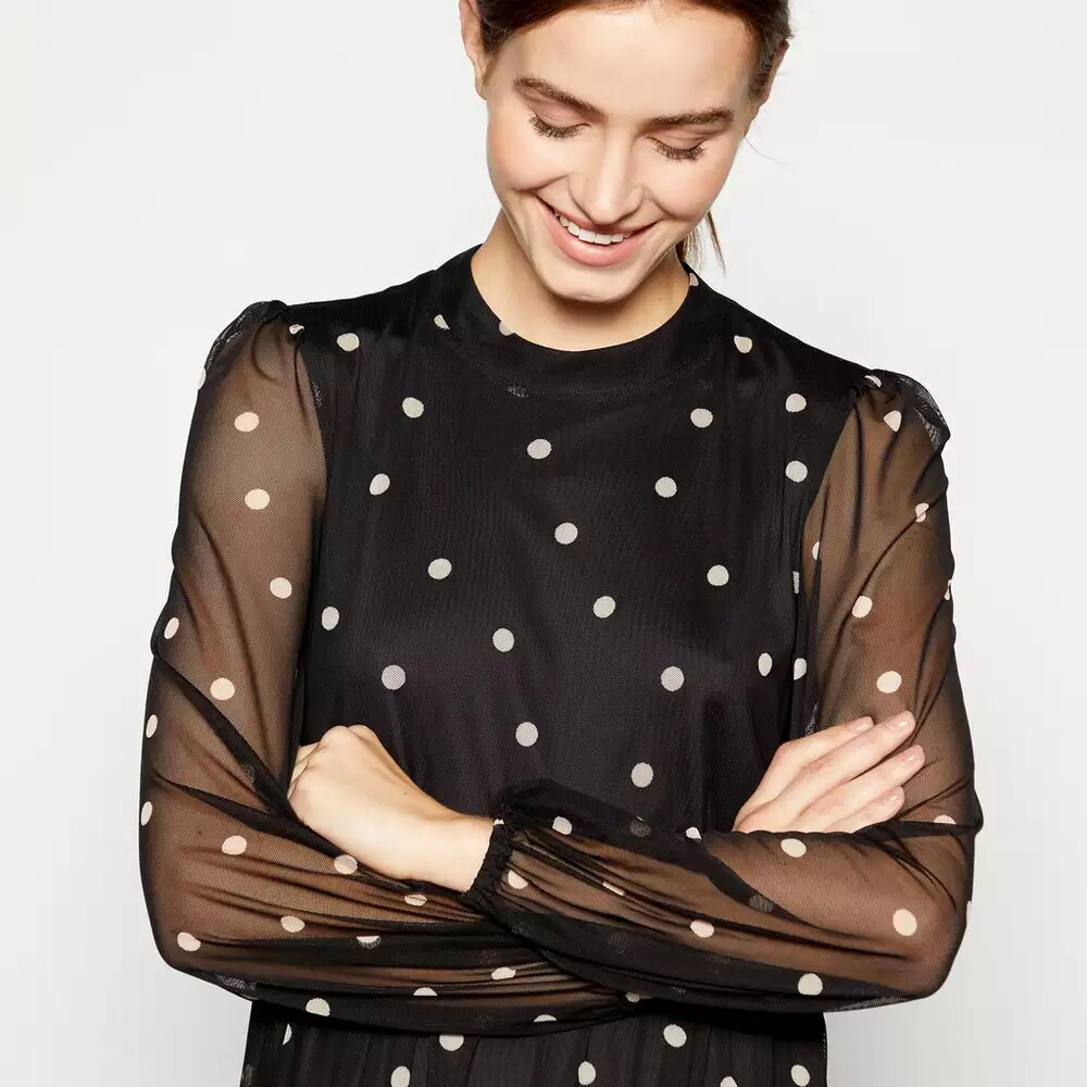 This Debenhams dress could become the new spotty dress of the moment