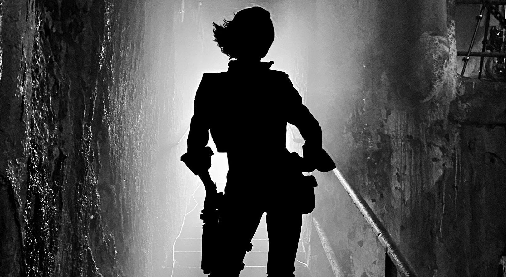 Cate Blanchett as Lilith in silhouette