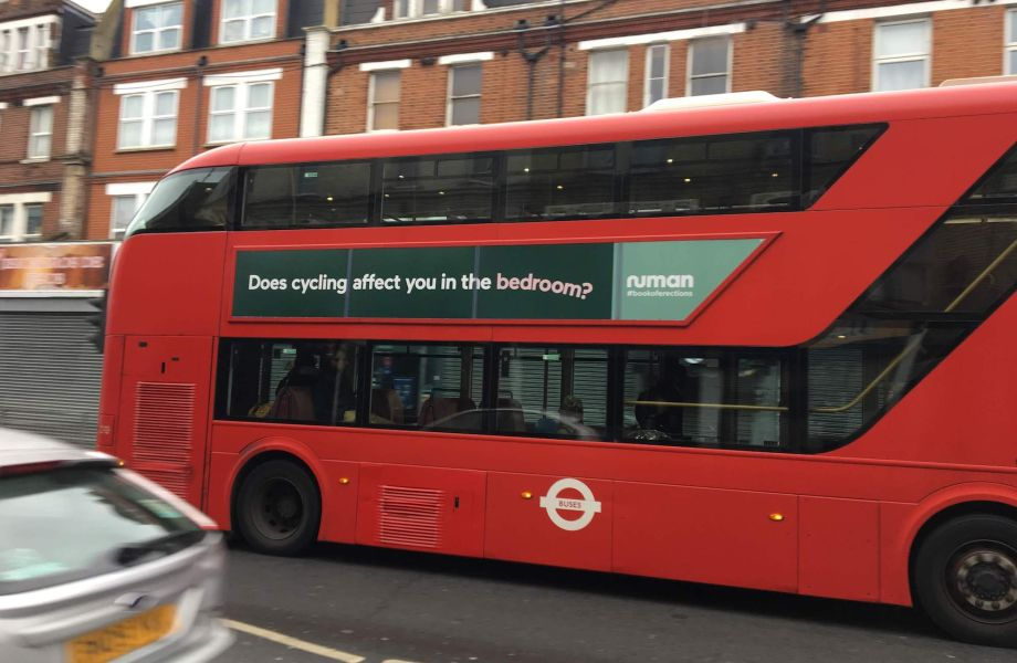 Cyclist gets bus advert banned as it falsely linked cycling to erectile dysfunction