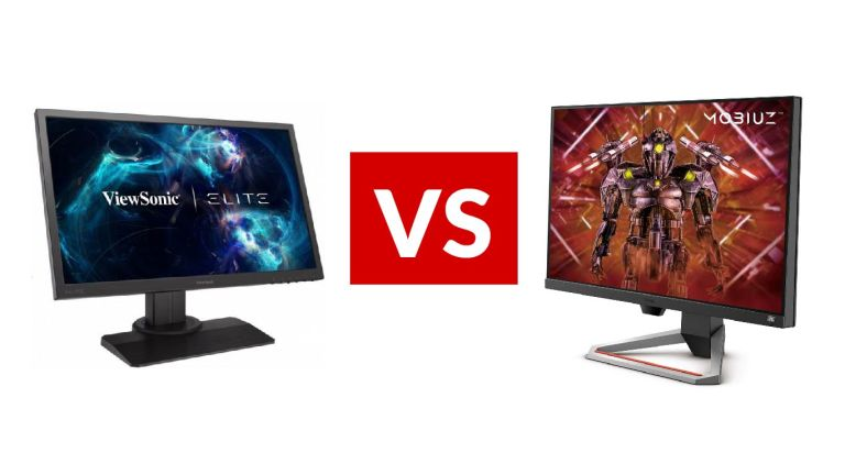 ViewSonic Elite XG240R vs BenQ Mobiuz EX2710