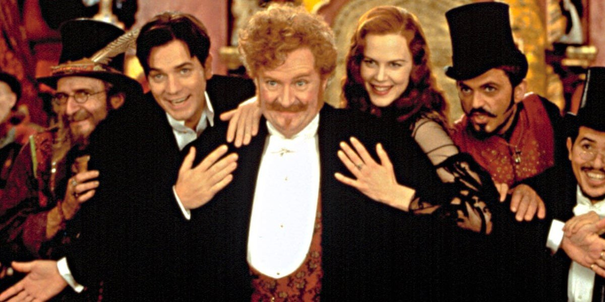 The cast of Moulin Rouge