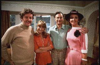 The Good Life cast — Tom, Barbara, Jerry and Margo.