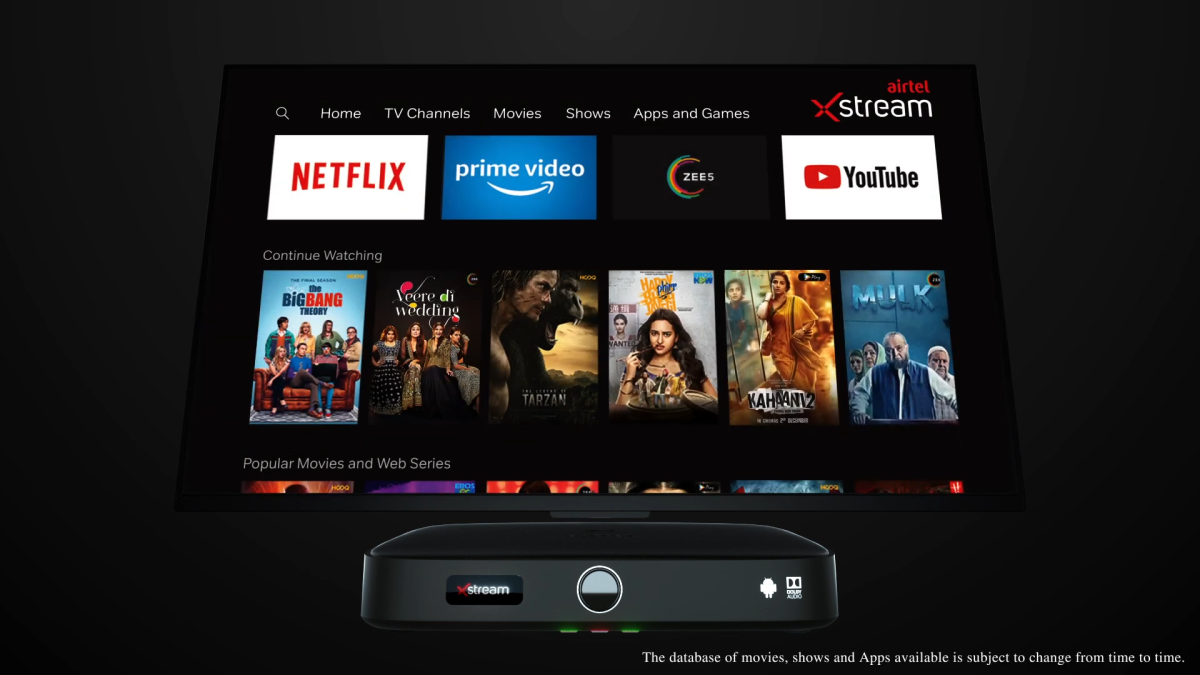 Airtel Xstream Stick & Xstream 4K Box launched in India to