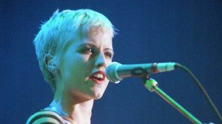 Dolores O'Riordan of The Cranberries onstage at Shepherds Bush Empire, London, 1994