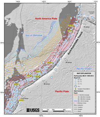 Kuril Trench earthquakes
