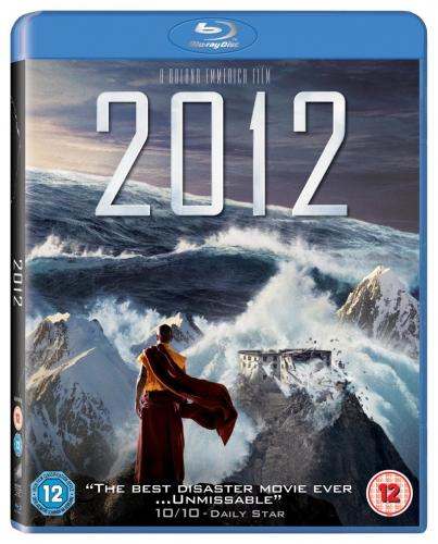 Win epic disaster movie 2012 on Blu-ray