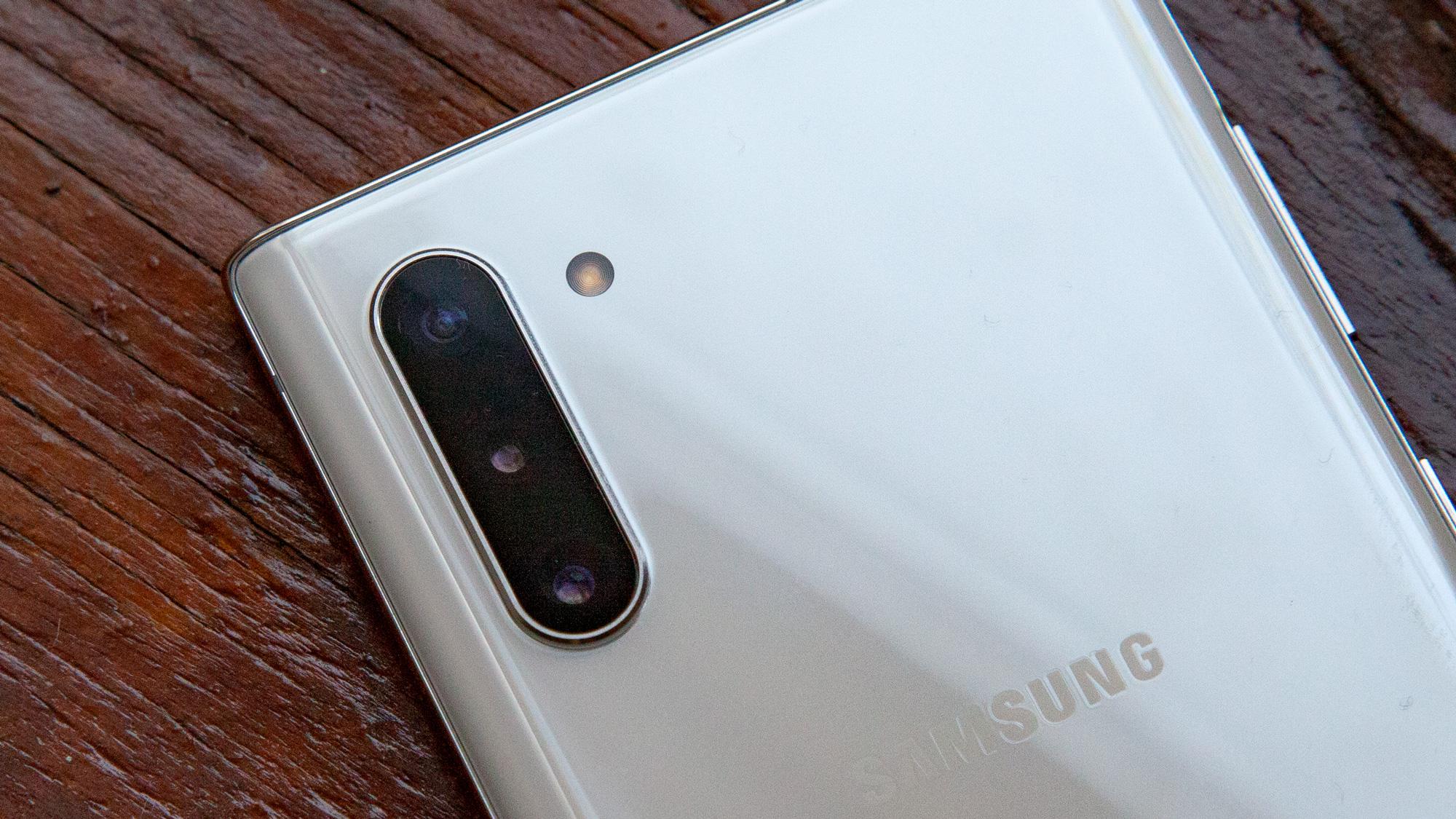 Câmera traseira Samsung Galaxy Note 10