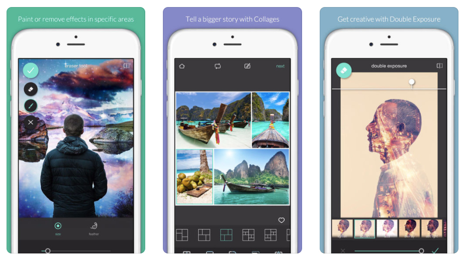 Pixlr screenshots
