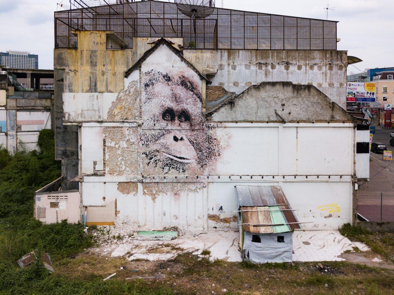 Street art: Vhils