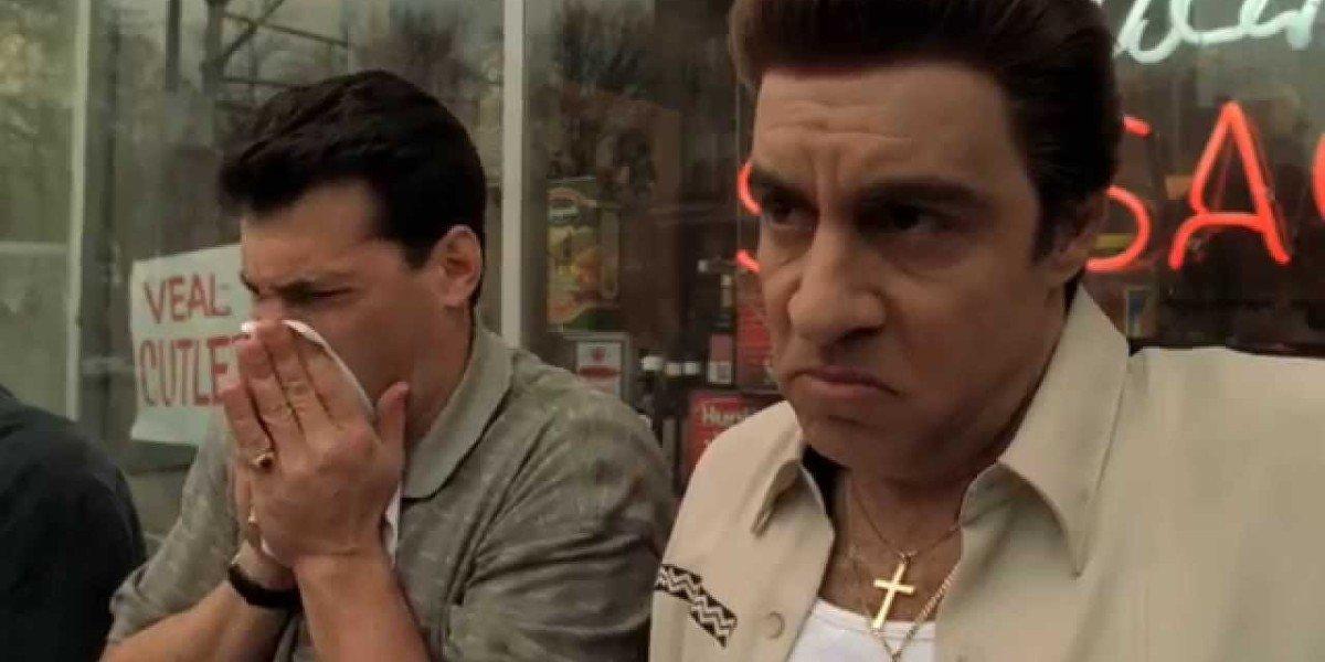 Scene from The Sopranos