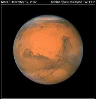 Mars Magic: Red Planet Shines Bright