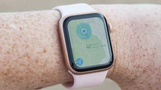 Apple Watch Map