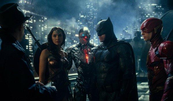 Justice League gotham gordon batman flash wonder woman cyborg