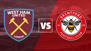 West Ham vs Brentford badges
