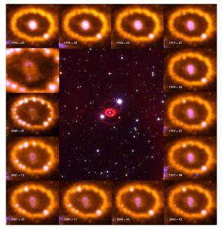 Supernova Blast Wave Could Shape Galaxy Evolution