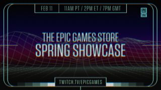 Epic Games Store Spring Showcase announcement image.