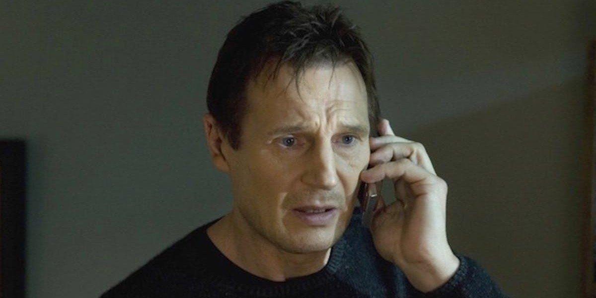 Liam Neeson as Bryan Mills in Taken (2008)