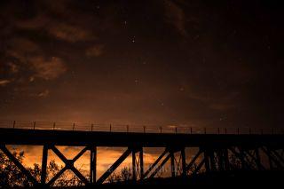 Big Dipper and Bridge Over Arizona