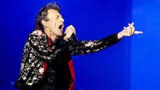 Mick Jagger onstage
