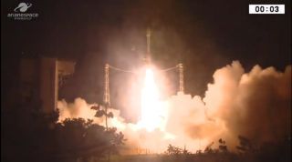 Vega Rocket Suffers 'Major Anomaly' During Launch of UAE Satellite