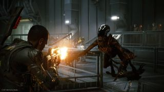 Aliens Fireteam Elite weapons